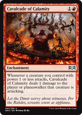 Cavalcade of Calamity - Foil