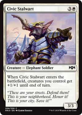 Civic Stalwart - Foil