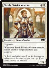 Tenth District Veteran