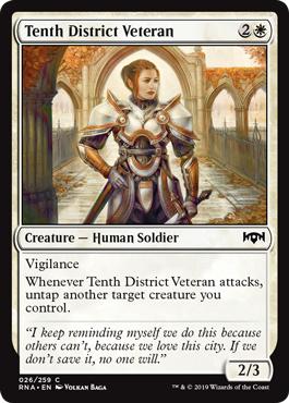 Tenth District Veteran - Foil