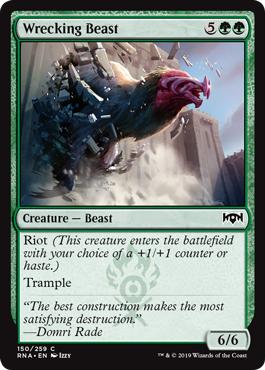 Wrecking Beast - Foil