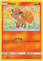Vulpix - 15/181 - Common
