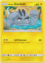 Alolan Geodude - 34/181 - Common
