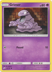 Grimer - 62/181 - Common