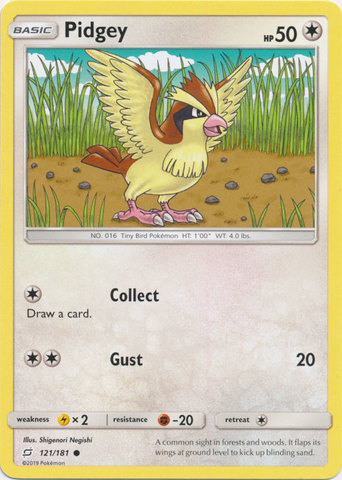 Pidgey - 121/181 - Common