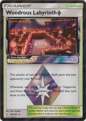 Wondrous Labyrinth Prism Star - 158/181 - Holo Rare