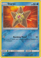 Staryu - 28/181 - Common - Reverse Holo