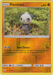 Pancham - 81/181 - Common - Reverse Holo
