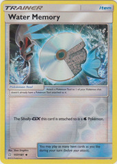 Water Memory - 157/181 - Uncommon - Reverse Holo