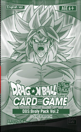DBS: Broly Pack Vol.2
