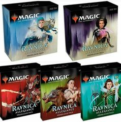 Ravnica Allegiance Prerelease Pack - Set of 5