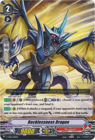 Recklessness Dragon - V-TD06/004 - TD