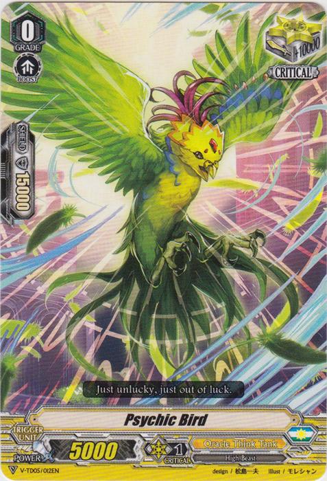 Psychic Bird - V-TD05/012 - TD