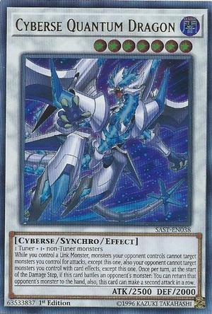 Cyberse Quantum Dragon - SAST-EN038 - Ultra Rare - 1st Edition