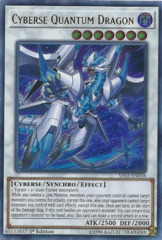 Cyberse Quantum Dragon - SAST-EN038 - Ultra Rare - 1st Edition on Channel Fireball