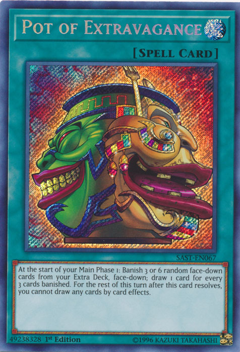 Pot of Extravagance - SAST-EN067 - Secret Rare - 1st Edition