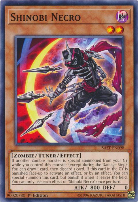 Shinobi Necro - SAST-EN098 - Common - 1st Edition