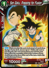 Son Goku, Prepping for Fusion - BT6-005 - C