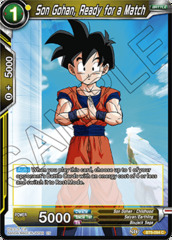 Son Gohan, Ready for a Match - BT6-084 - C