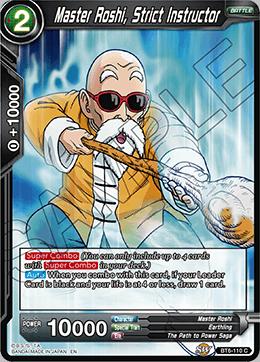 Master Roshi, Strict Instructor - BT6-110 - C - Foil