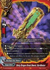 Deity Dragon Great Sword, Gar-Buster - S-BT03/0034EN - U