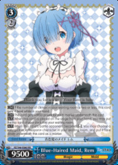 Blue-Haired Maid, Rem - RZ/S46-E060 - RR