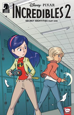 Disney Incredibles 2 Secret Identities #1 (Of 3) Cvr A Claud