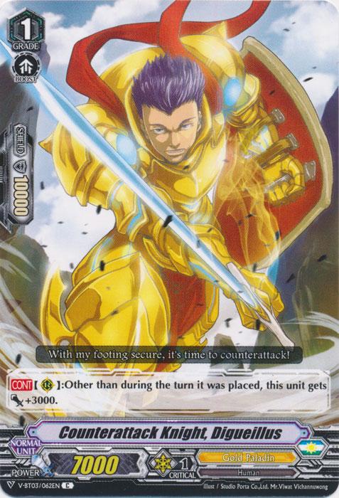 Counterattack Knight, Digueillus - V-BT03/062EN - C