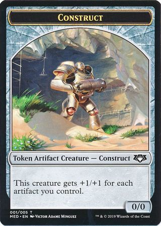 Construct Token (001/005) - Mythic Edition