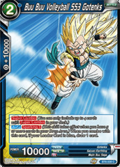 Buu Buu Volleyball SS3 Gotenks - BT6-039 - C