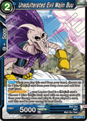 Unadulterated Evil Majin Buu - BT6-044 - C - Foil