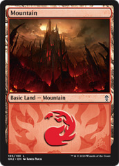 Mountain (105) (Guild Kits: Ravnica Allegiance)