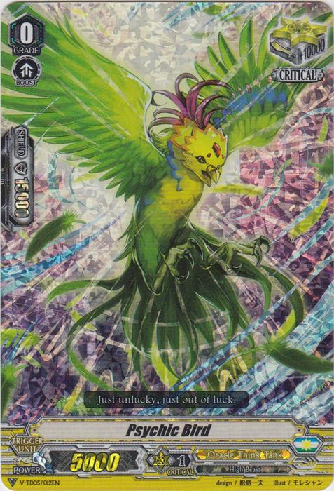 Psychic Bird - V-TD05/012 - RRR