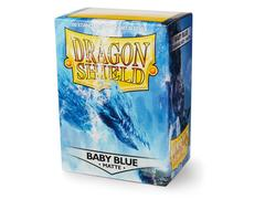 Dragon Shield Sleeves: Matte Baby Blue (Box Of 100)