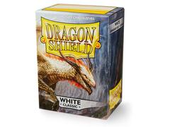 Dragon Shield Sleeves: Classic White - Standard - (Box of 100)