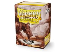 Dragon Shield Sleeves: Classic Brown  - Standard - (Box of 100)