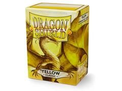 Dragon Shield Sleeves: Classic Yellow  - Standard - (Box of 100)