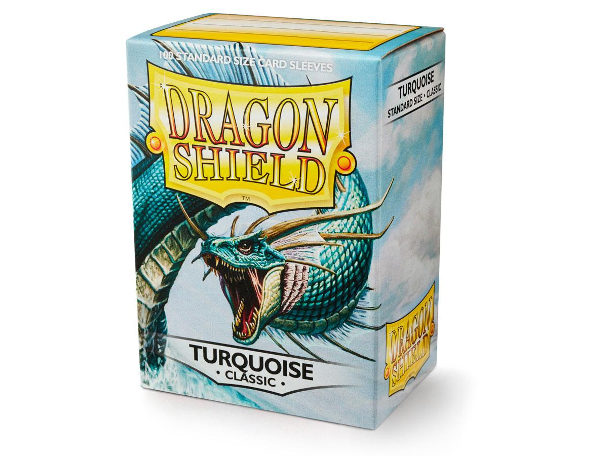 Dragon Shield Sleeves: Classic Turquoise  - Standard - (Box of 100)