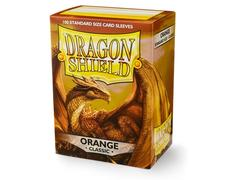 Dragon Shield Sleeves: Matte Orange  - Standard - (Box of 100)