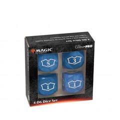 Ultra Pro - Deluxe 22MM Blue Mana Loyalty Dice Set for Magic: The Gathering