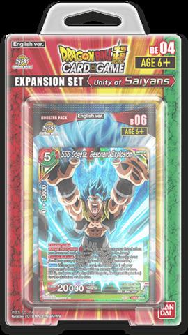 Dragon Ball Super TCG - Unity of Saiyans - Expansion Set 04