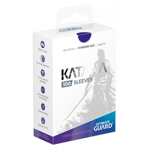 Ultimate Guard - Katana Sleeves - Standard Size - Blue (100ct)