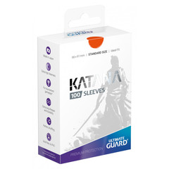 Ultimate Guard - Katana Sleeves - Standard Size - Orange (100ct)