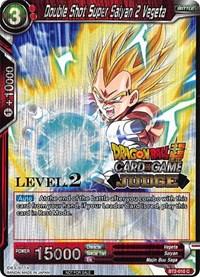 Double Shot Super Saiyan 2 Vegeta (Level 2 Judge Promo) - BT2-010 - PR