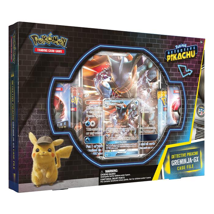 Detective Pikachu Greninja GX Case File