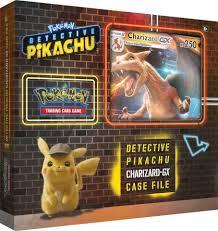 Detective Pikachu Charizard GX Case File