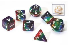 0110 Dice Set - Rainbow