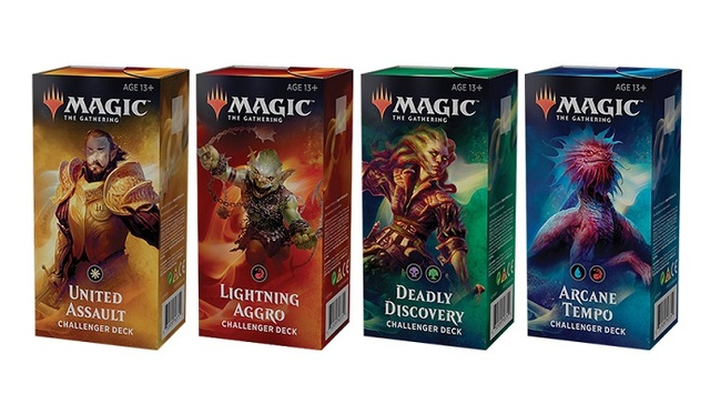 Challenger Decks 2019 (Set of 4)