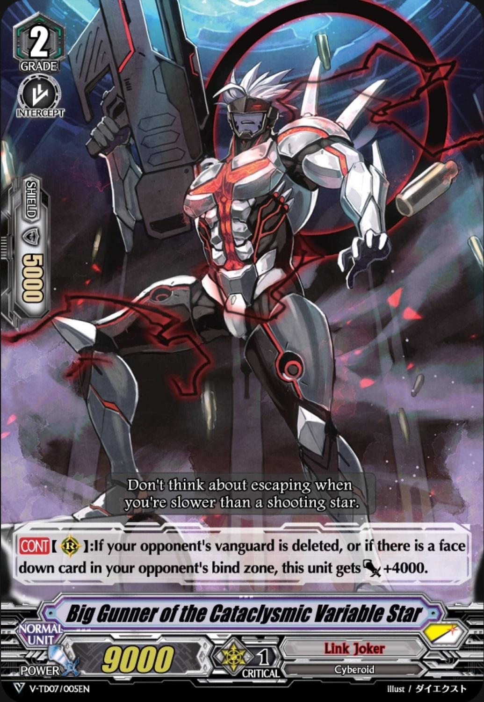 Cardfight Vanguard VGE-V-TD07 New Kouji Ibuki Trial Deck English Link Joker