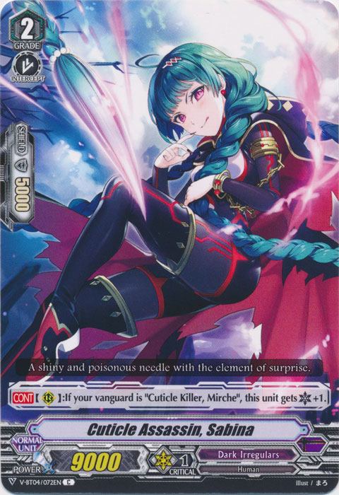 Cuticle Assassin, Sabina - V-BT04/072EN - C